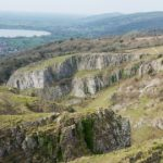 Photo Diana Jarvis Greentraveller Limited Cheddar Gorge towards Brent Knoll