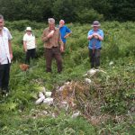 Photo AONB Unit - Burrington Camp Bracken Cutting