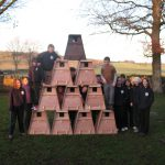 Young Rangers with Completed Barn Owl Boxes