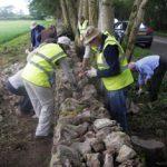 Stone Walling Nr Priddy