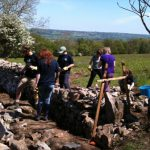 Photo AONB Unit Young Rangers Walling