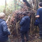 Photo AONB Unit Young Rangers Shelter Building